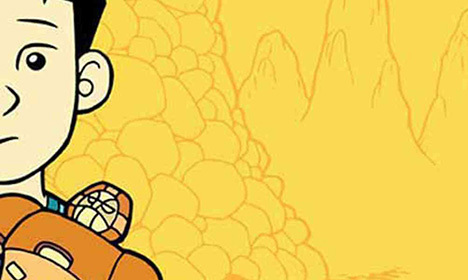 Cover of Gene Luen Yang's American Born Chinese