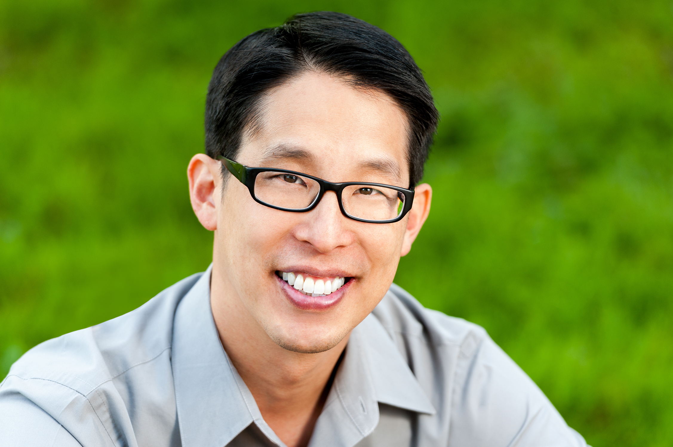 Author and artist Gene Luen Yang