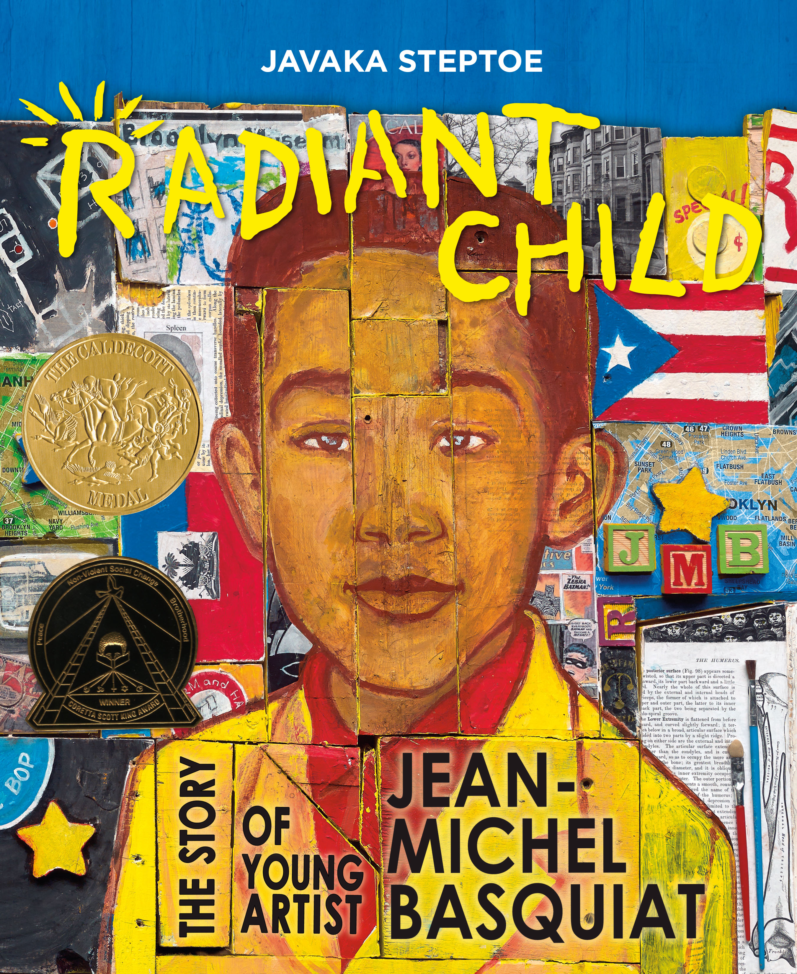 Cover for Radiant Child by Javaka Steptoe