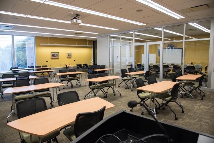 Skokie Public Library Study Rooms
